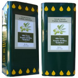 25 litri di Olio Extravergine di Oliva